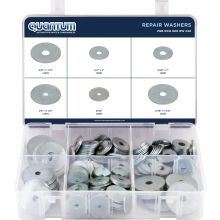 ASSORTED BOX OF REPAIR WASHERS (BOX OF 240 PIECES)