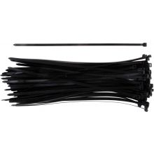 CABLE TIES BLACK - 200 X 4.8MM (PACK OF 2 X 100)