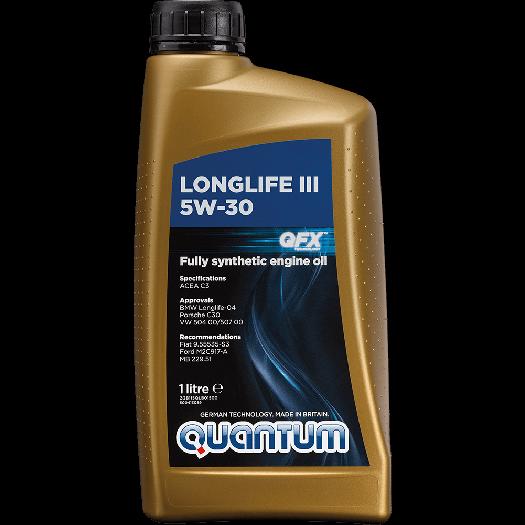LongLife III 5W-30 1 litre