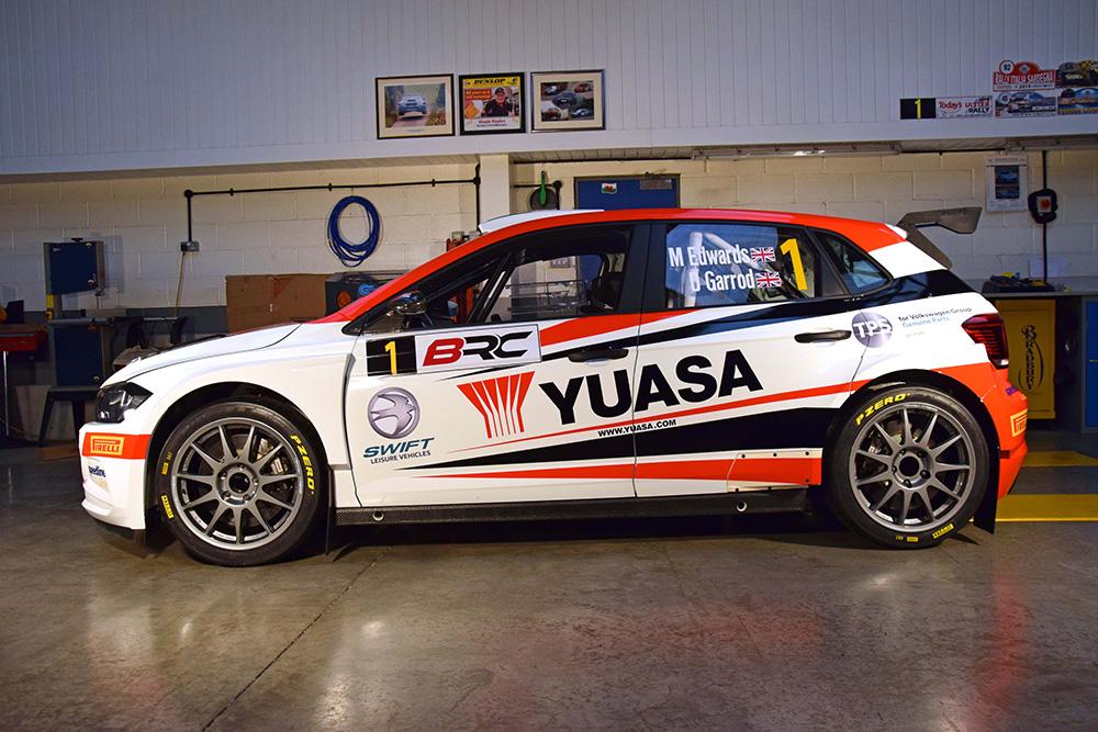 YYuasa Rally livery for Matt Edwards E-sports Championship in DiRT 2.0
